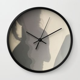 She Mountains Wall Clock