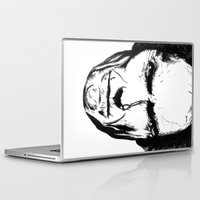 clint eastwood Laptop & iPad Skins featuring Clint Eastwood by Zombie Rust