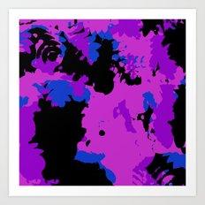 Chaos Splash Art Print