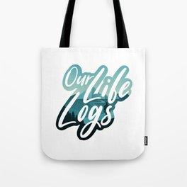 Our Life Logs Logo Tote Bag