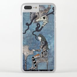 An enchanting voice Clear iPhone Case