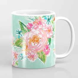 BOUNDLESS Happy Bright Floral Coffee Mug