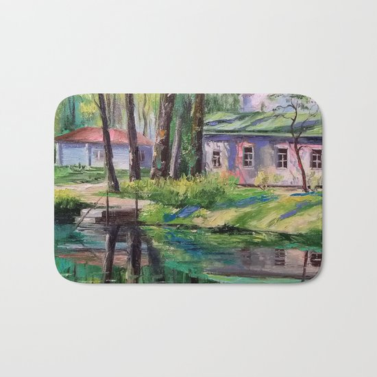 Spring day Bath Mat