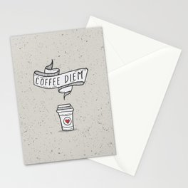 Coffee Diem Stationery Cards