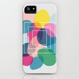 Pebble Box in Jewel Tones iPhone Case