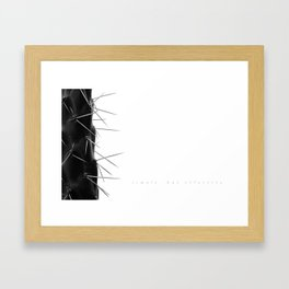 Simple - but effective. Framed Art Print