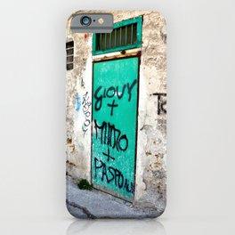 URBAN PALERMO TALK iPhone Case