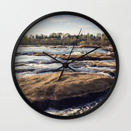 James River Richmond VA Wall Clock