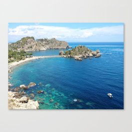 Turquoise water Canvas Print