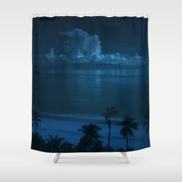 Ocean Storms Shower Curtain
