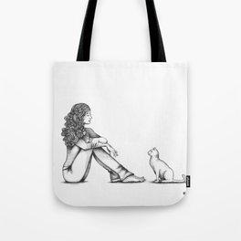 Nonverbale Communication Tote Bag