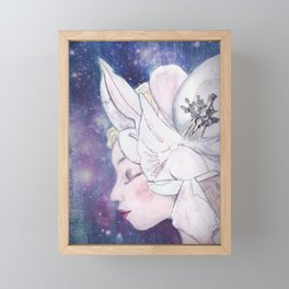 In the land of my dreams Framed Mini Art Print