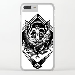 The order of the cats Clear iPhone Case