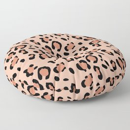 Leopard Animal Print Glam #20 #pattern #decor #art #society6 Floor Pillow