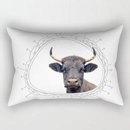 Yellow Horns Rectangular Pillow