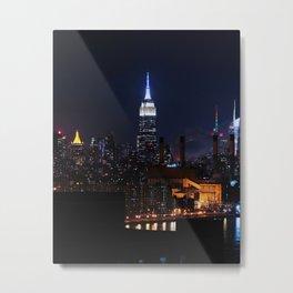 Lights of New York City (Color) Metal Print