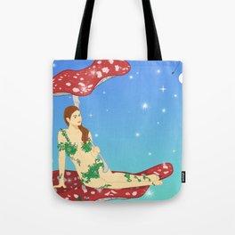 Fairy of Mushroom Tote Bag