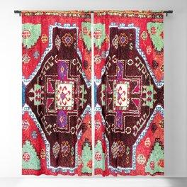 Malatya  Antique Turkish Rug Print Blackout Curtain
