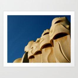 Gaudi (Barcelona, Spain) Art Print