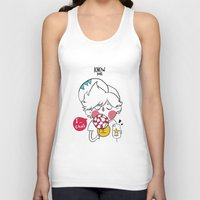 candy Tank Tops featuring candy by Know me