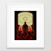 1984 Framed Art Prints featuring 1984 by miles to go