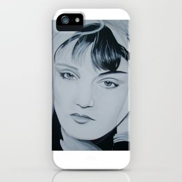 Exene Muse iPhone Case