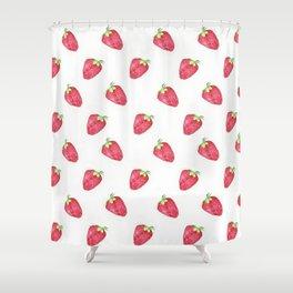 Fraise Shower Curtain