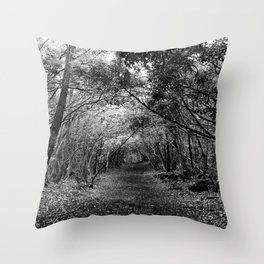 Desolate // Aokigahara  Throw Pillow