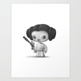 Lil Leia Art Print
