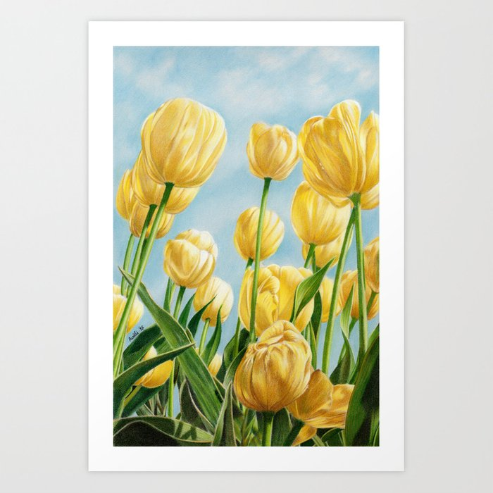 Colors of Spring Art Print