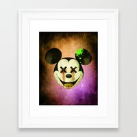mickey Framed Art Prints featuring Mickey by wrong planet