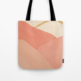 Mountains In Pink Tote Bag