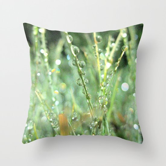 Six feet Above Throw Pillow