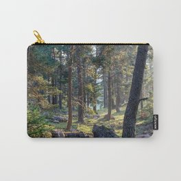 Wild forest in the mountains in Turkey | Travel & nature photography | Fine art photo print.  Carry-All Pouch