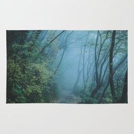 woods path Rug