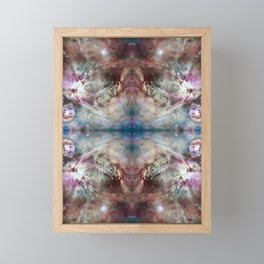 Space Mandala 20 Framed Mini Art Print