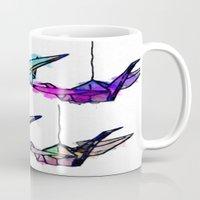 the lights Mugs featuring Lights by Sofia Gerona