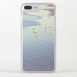 Early Birds Clear iPhone Case
