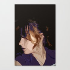 Purple me Canvas Print