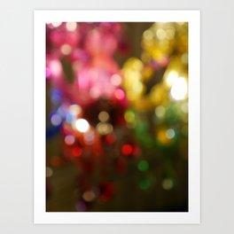 Light Bokeh Art Print