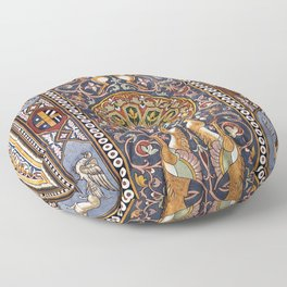 ART NOUVEAU - Giardini - Sicily Floor Pillow