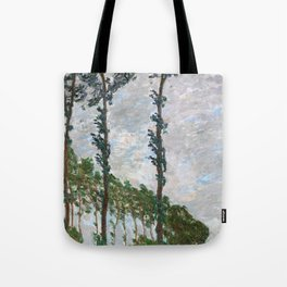 Wind Effect, Series of The Poplars - Digital Remastered Edition Tote Bag