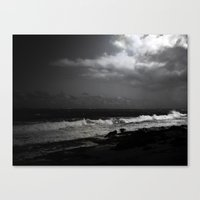 puerto rico Canvas Prints featuring Puerto Rico Shoreline by Judith Lee Folde Photography & Art