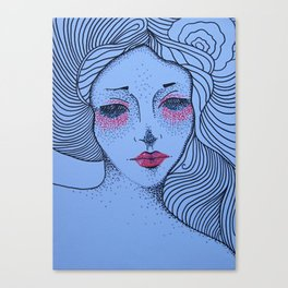 NIGHT VIGIL Canvas Print