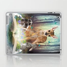 Believe In Magic • (Bambi Forest Friends Come to Life) Laptop & iPad Skin