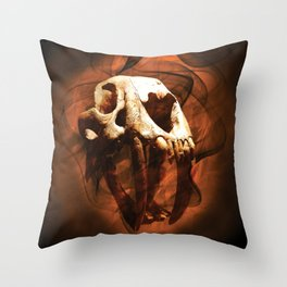 Skull and BoneZ Throw Pillow