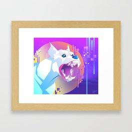 Infinity Bark Framed Art Print