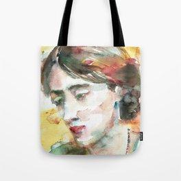 VIRGINIA WOOLF - watercolor portrait.3 Tote Bag