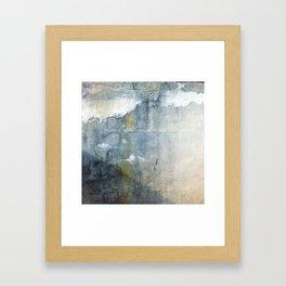 Stripe of yellow, hello Framed Art Print