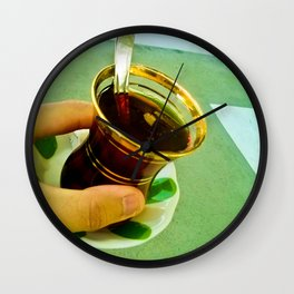 Memories of a Tea. Wall Clock